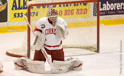 No.9 Cornell Shuts Down No.5 UND Fighting Sioux 1-0 In Non-Conference Action