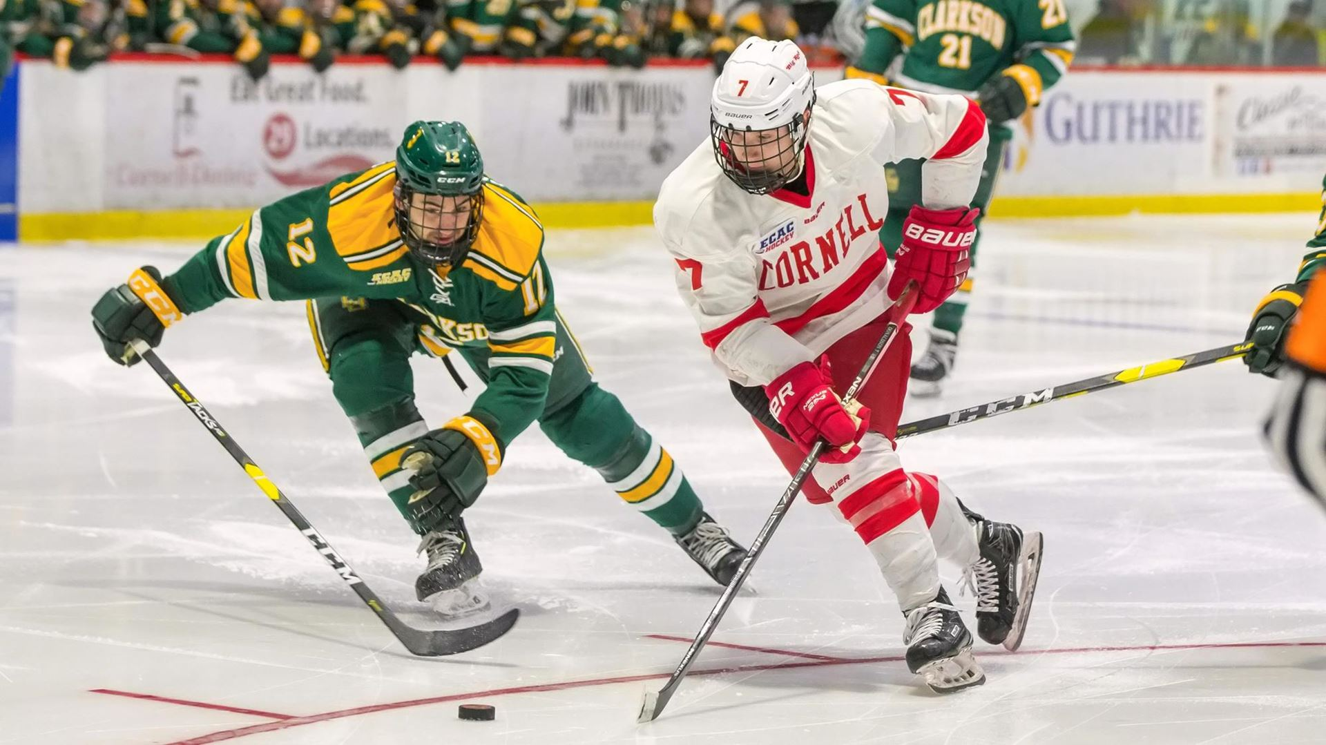 Two-goal third period lifts Cornell over Clarkson, 4-2