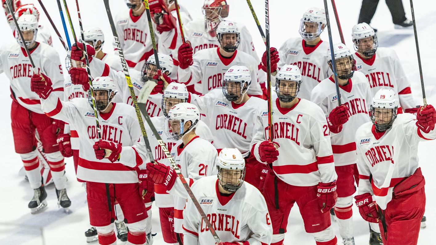 Four second-period goals help Cornell defeat Princeton, 5-1