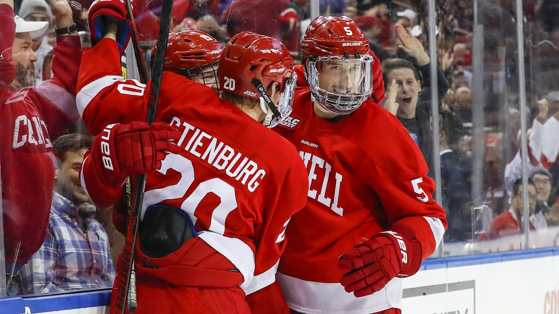 Cornell improves to 9-0 after shutting out Boston University, 2-0