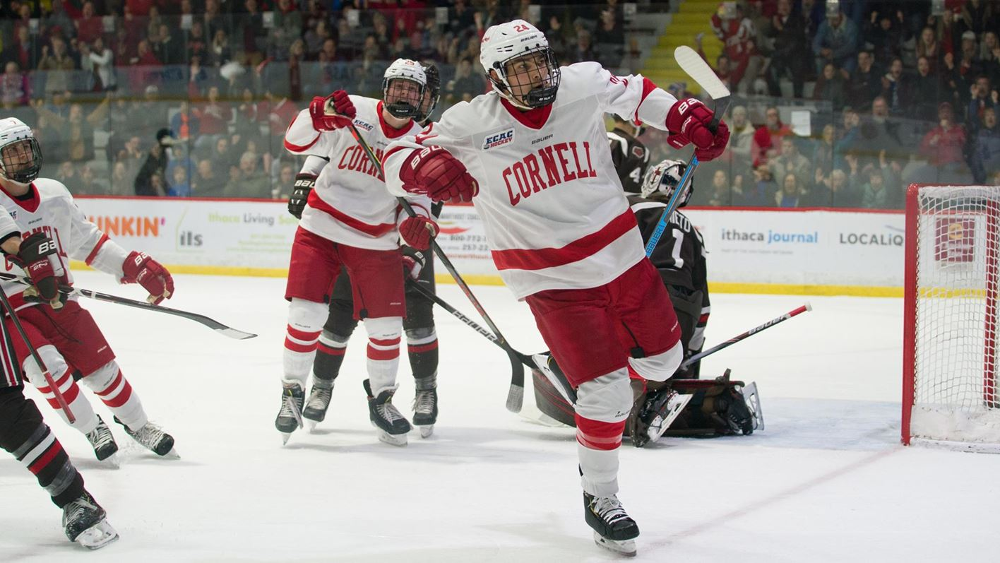 Cornell improves to 3-0 after defeating Brown, 4-1