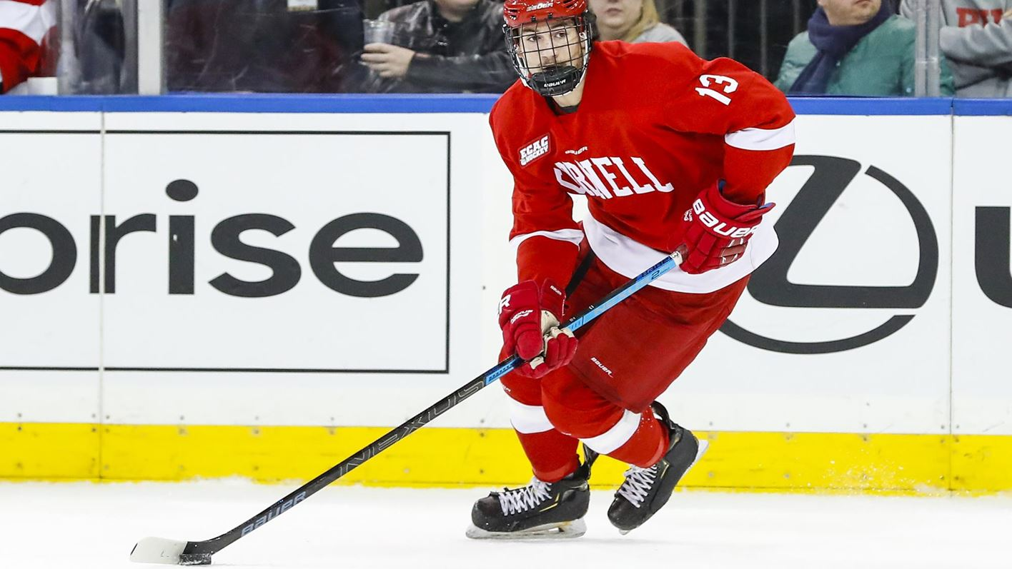 Cornell uses quick start to down Harvard, 3-1
