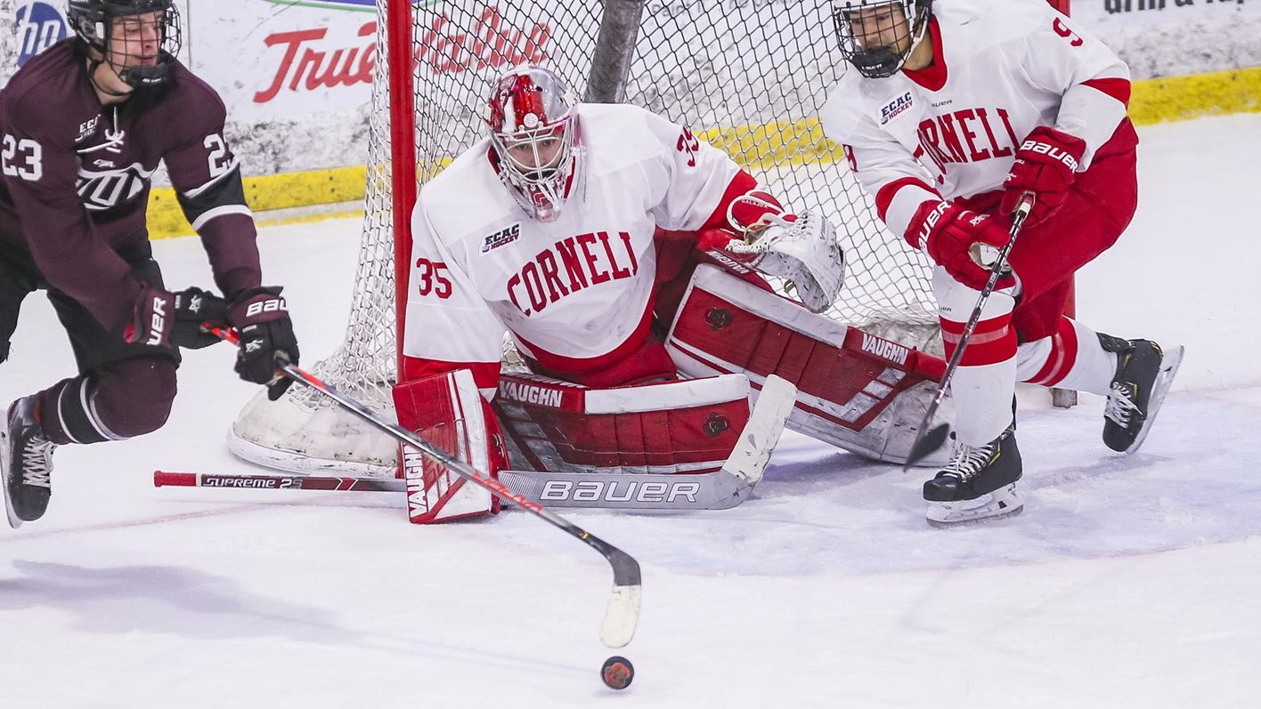 Cornell blasts Yale, 4-0, to clinch 20th Ivy League Title